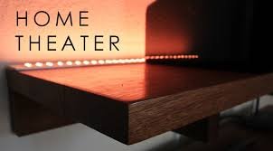 setting up home theater home theater led lighting u0026 speaker set up youtube