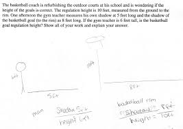 basketball goal students are asked to decide if a basketball goal