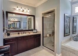 Brushed Nickel Bathroom Mirror by Bathroom Stunning Large Bathroom Mirrors For Home Wall Mirrors