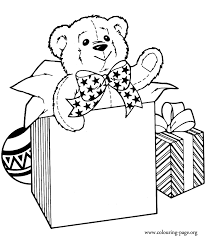 bears cute teddy bear coloring