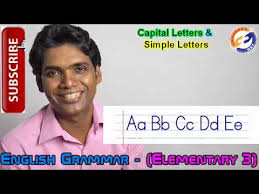 english grammar elementary 3 capital letters u0026 simple letters