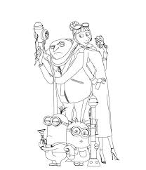 35 despicable 2 coloring pages naughty kids