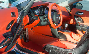 spyker interior mtm brings glistening 766 hp v10 audi r8 to geneva car and