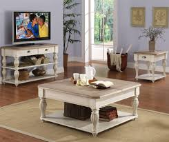 square lift top coffee table with fixed bottom shelf by riverside