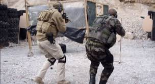 tactical shooting team room clearing drill youtube