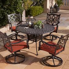 Aluminum Bistro Table And Chairs Patio Cast Aluminum Bistro Set Pub Table And Chairs
