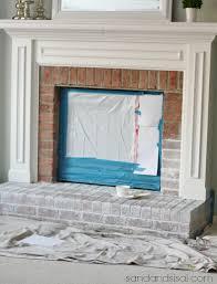 White Washed Stone Fireplace Life by Best 25 Whitewash Brick Fireplaces Ideas On Pinterest White