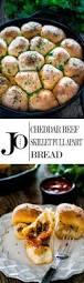 cheddar beef skillet pull apart bread jo cooks