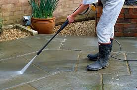 Cleaning Patio With Pressure Washer Using Pressure Washer To Clean Patio Slabs Gap Gardens Blog