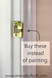 best spray paint for cabinet hinges how to spray paint door knobs that last refinishing door