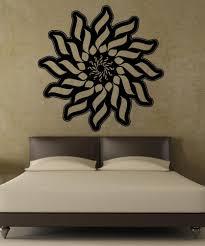 vinyl wall decal sticker abstract sun design 5507