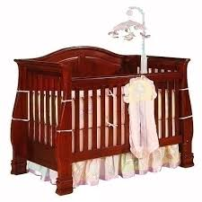 Convertible Crib Cherry Bergamo Lifetime Convertible Crib Cherry By Bergamo