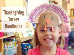 turkey headband thanksgiving turkey headbands make and takes