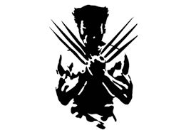 amazon com wolverine x men wall decal black 25 amazon com wolverine x men wall decal black 25