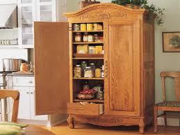 Kitchen Freestanding Pantry Cabinets Pantry Cabinet Livingurbanscape Org