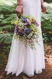 Wedding Flowers Near Me Bohemian Wedding In The Woods Wild Flower Bouquet By Femke