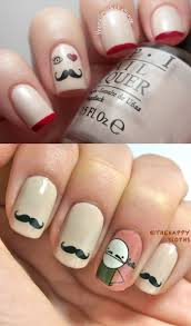 72 best mustache nail art ideas images on pinterest movember