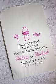 wedding candy custom printed candy buffet bags 2060736 weddbook