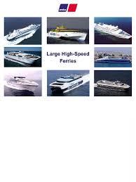 mtu large high speed ferry marine propulsion ferry