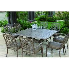 8 Piece Patio Dining Set - cast aluminum patio dining set seats 6 patio dining sets at patio
