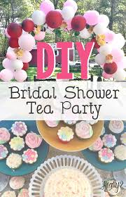 bridal shower tea party diy bridal shower tea party