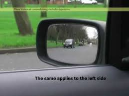 Blind Side Definition Driver Education Blind Spots Youtube