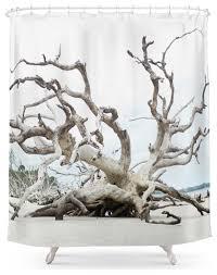 society6 driftwood shower curtain beach style shower curtains