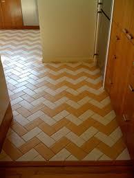 beautiful herringbone tile floor u2014 cabinet hardware room