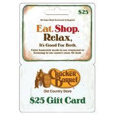 cracker barrel gift card cracker barrel 25 target