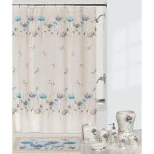 interdesign ombre shower curtain blue and green hayneedle