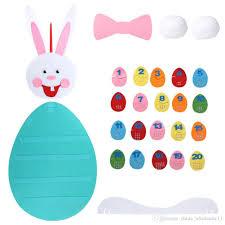 felt easter eggs happy easter decoration diy felt easter eggs number recognition