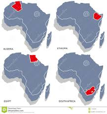 Ethiopia Map Africa by Africa 3d Map Stock Photos Image 17292483