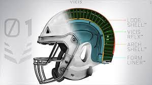 new design helmet for cricket vicis zero1 nfl helmet aims to reduce head injuries