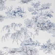 gold toile blue wallpaper departments diy at b u0026q dream