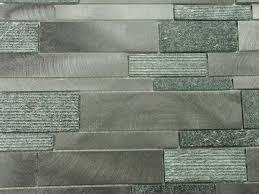 mosaic tiles kitchen backsplash brushed aluminum textured black quartz mosaic tile kitchen
