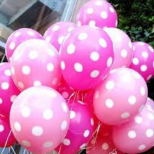 birthday decorations dot balloon birthday decoration home decor polka balloon for