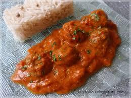la cuisine pakistanaise pakistan boulettes de viande épicé en sauce et riz basmati