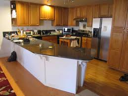 Kitchen Countertop Material by Subway Tile With Accent Countertops This Shows Ideas Is One Of The