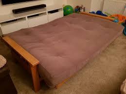 oak futon sofa bed oak futon sofa bed in abbots langley hertfordshire gumtree
