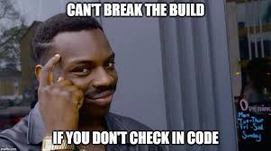 Build A Meme - breaking the build imgflip
