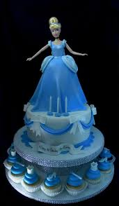 cinderella cupcakes cinderella cake and cupcake tower