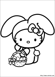 index of images coloriage hello kitty