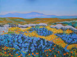 anza borrego wildflowers anza borrego spring painting by dan scannell