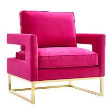 Pink Accent Chair Avery Chair Pink Accent Chairs Tov A120 4