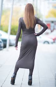 tight dress buy brown tight dress whit on livemaster online shop