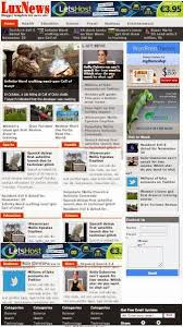 lux news blogger templates free blogger template