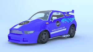 cartoon sports car cartoon racing car by art good format 3docean