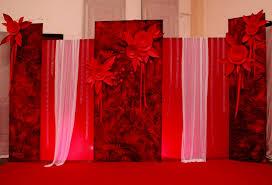 creative wedding black u0026 white backdrops red n black wedding