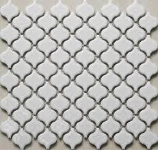 Kitchen Wall Ceramic Tile - 3d mosaic white porcelain tiles backsplash kitchen wall tiles