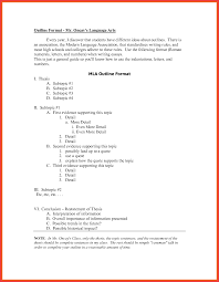 apa style outline template memo example